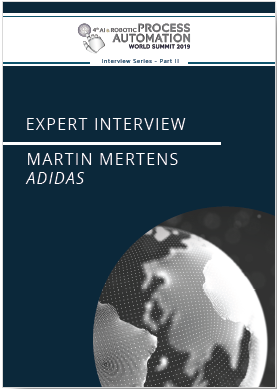 AI & RPA - Interview Series Part II - Adidas