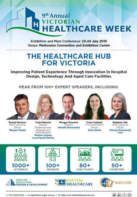 Victorian Healthcare Week 2019: Final Agenda - Sponsorship