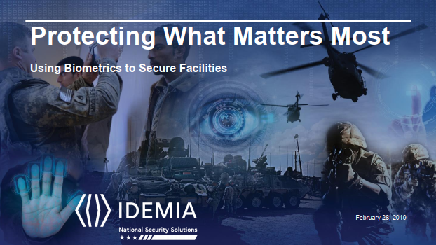 Protecting What Matters Most - Using Biometrics To Secure Facilities