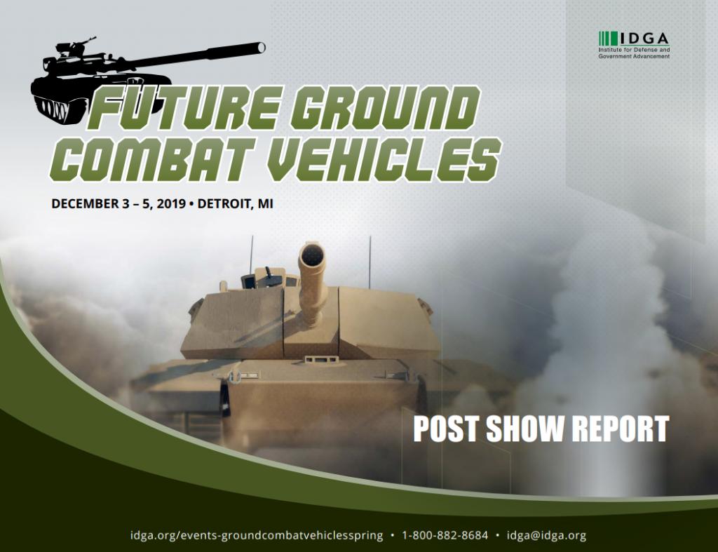 2019 Future Ground Combat Vehicles Post Show Report