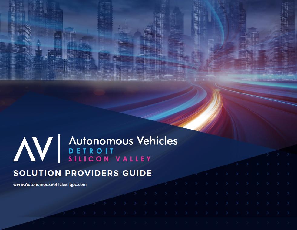 Autonomous Vehicles 2019: Solution Provider's Guide