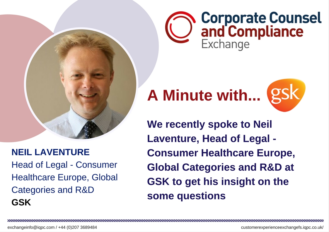 A Minute with... GSK Interview
