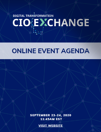 Digital Transformation CIO Virtual Exchange Agenda