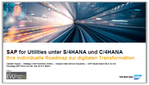 Präsentation: Roadmap zur digitalen Transformation von SAP