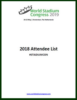 World Stadium Congress 2018 Attendee List