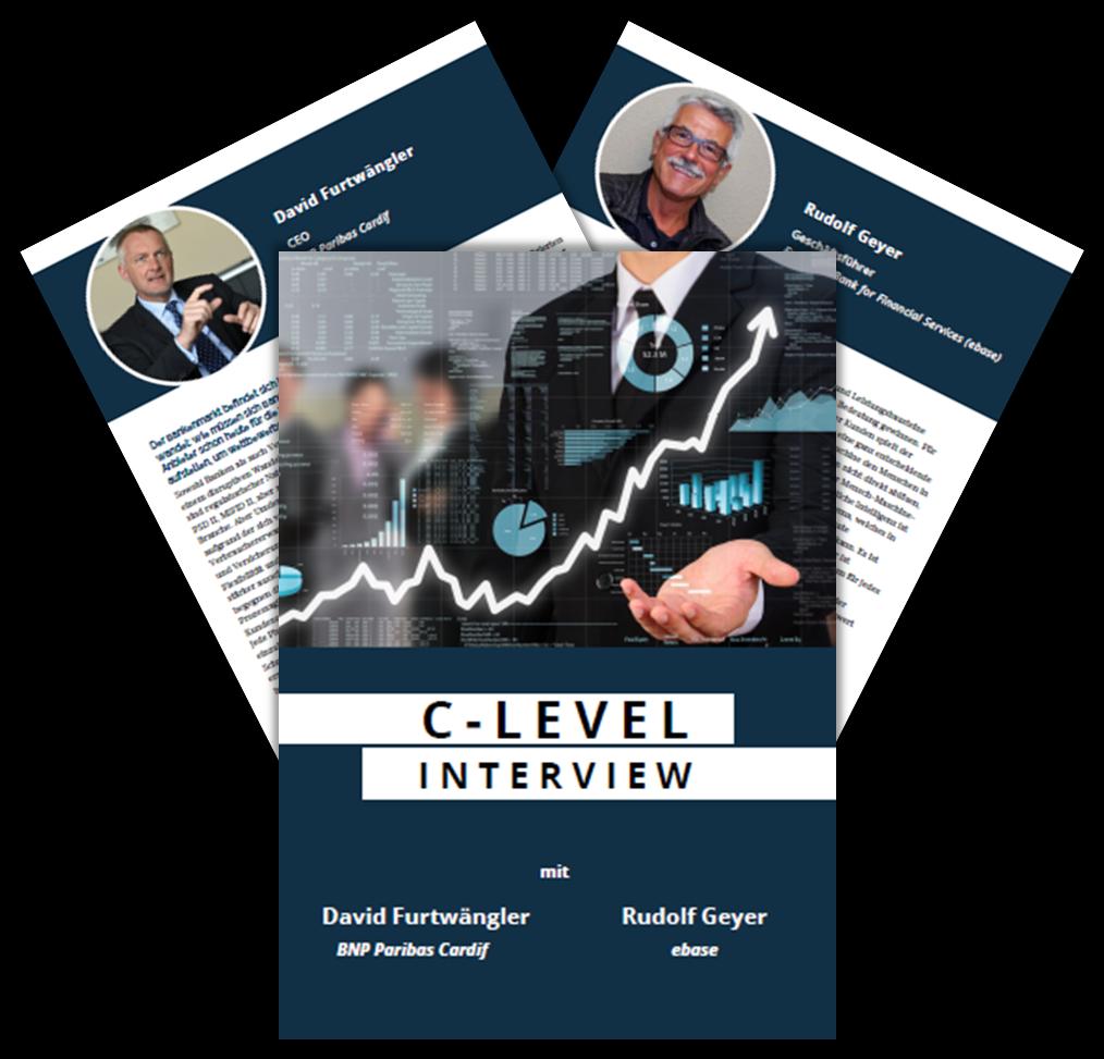 C-Level Interview mit BNP Paribas Cardif und ebase