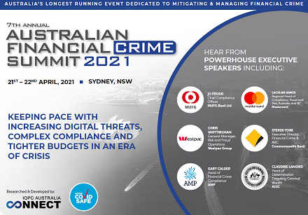 View Final Program - Australian Financial Crime 2021