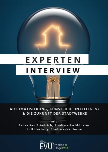 Zwei Experten der Stadtwerke im Interview über Automatisierung, künstliche Intelligenz & die Zukunft der Stadtwerke