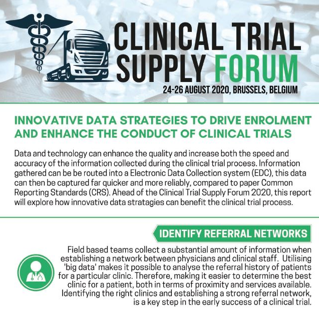 Innovative Data Strategies to Drive Enrolment and Enhance the Conduct of Clinical Trials