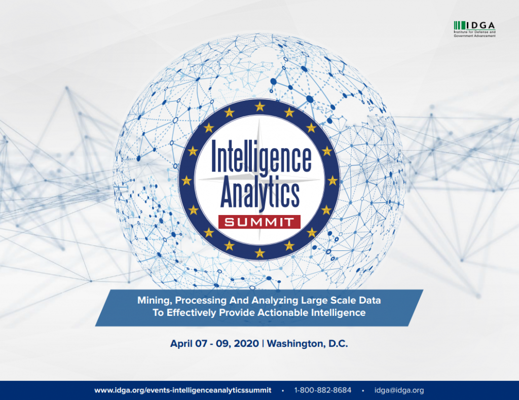 Intelligence Analytics Summit 2020 Official Agenda