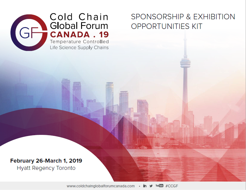 Cold Chain Global Forum Canada 2019 - Sponsorship Prospectus