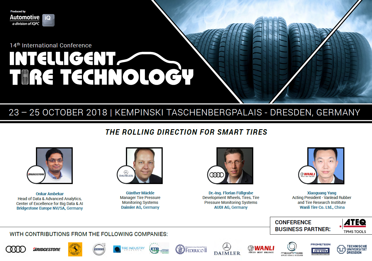Intelligent Tire Technology Agenda