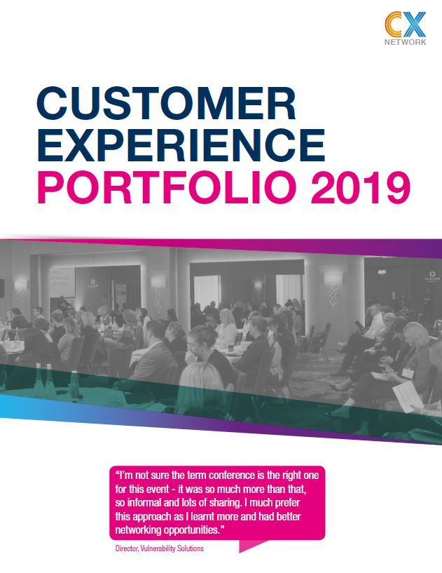 Customer Experience Portfolio: Business Development Pack 2019