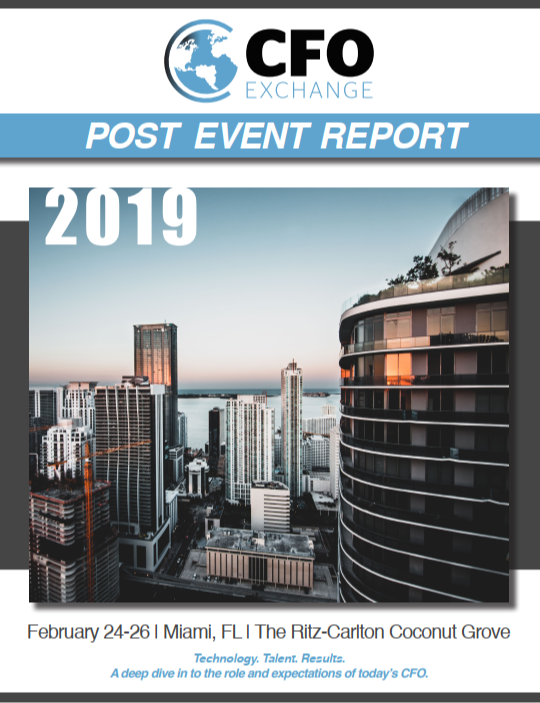 11th CFO Exchange Post Event Report