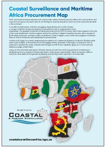 Coastal surveillance and maritime Africa procurement map