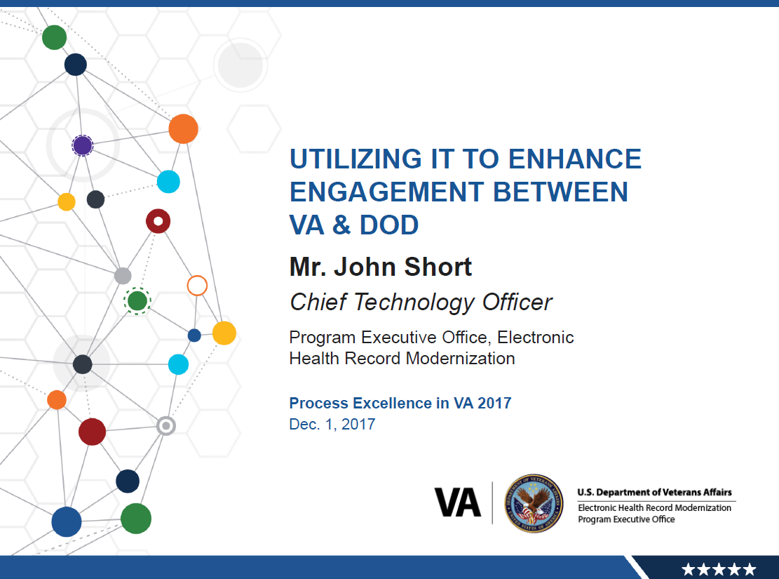 Utilizing IT to Enhance Engagement Between VA & DoD