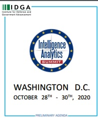 Intelligence Analytics Summit Preliminary Online Agenda