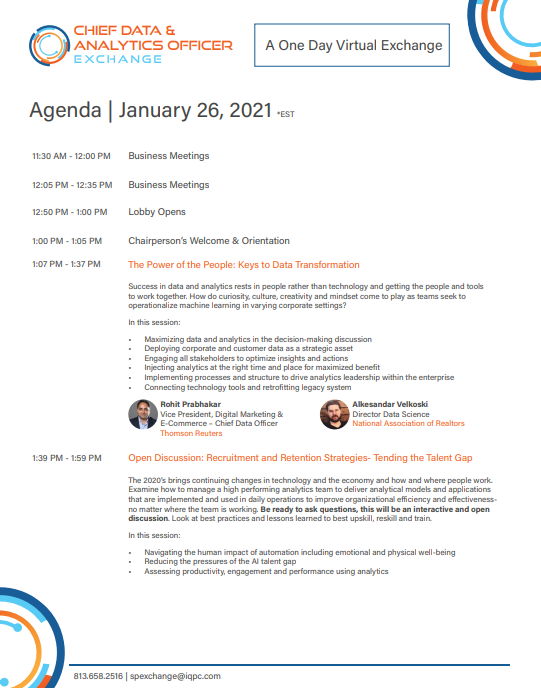 Download the 2021 CDAO Agenda