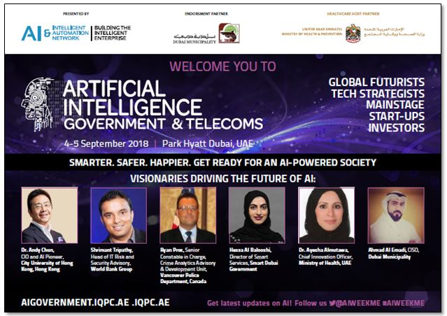 Artificial Intelligence Week – Government & Telecoms: Agenda