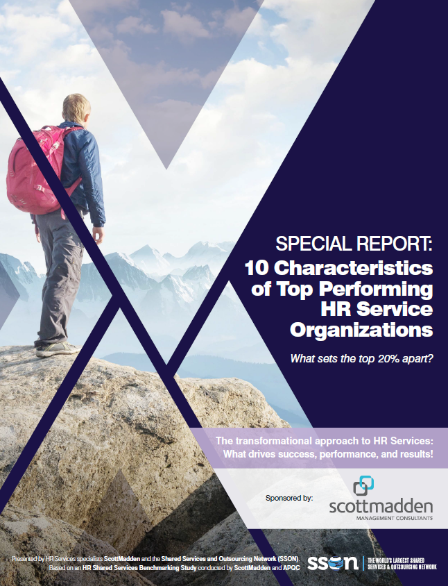 10 Characteristics of the Top Performing HR Services Organizations