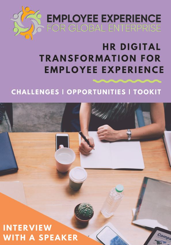 HR Digital Transformation for Employee Experience