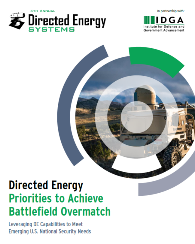 U.S. Directed Energy Priorities to Achieve Battlefield Overmatch