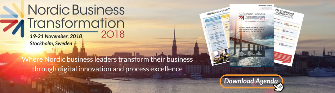 Nordic Business Transformation 2018 - spex - Event snapshot