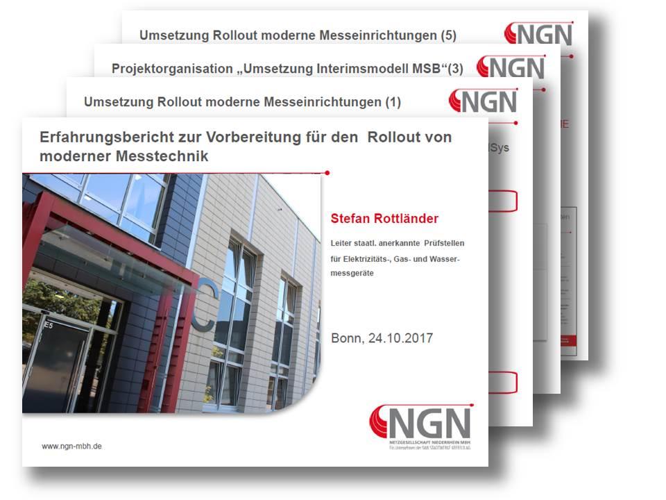 Rolloutvorbereitung moderner Messtechnik bei der Netzgesellschaft Niederrhein