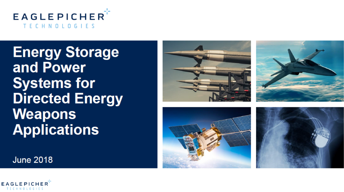 Energy Storage and Power Systems for DEW Applications