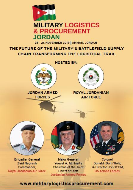 Brochure: Military Logistics & Procurement Jordan 2019