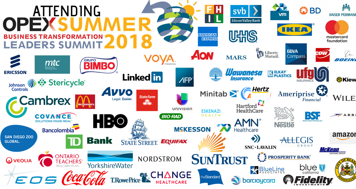 OPEX Summer 2018 | Sample Delegate List of Attendees