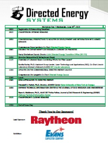 Directed Energy Systems 2019 Onsite Event Guide