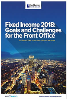 Fixed Income 2018: Goals and Challenges for the Front Office