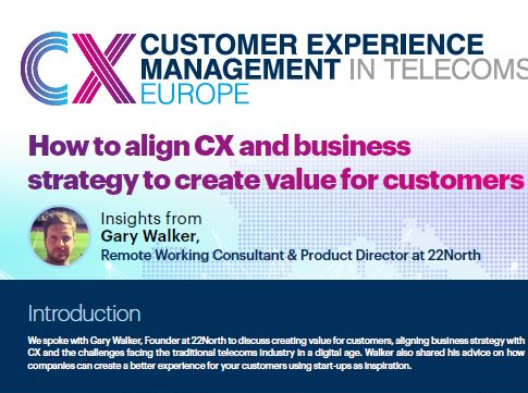 How to align CX and business strategy to create value for customers