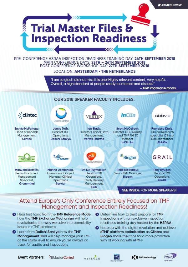 TMF and Inspection Readiness Full Programme