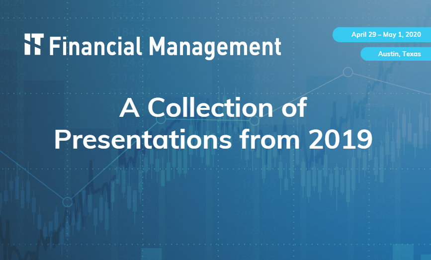 A Collection of Presentations from IT Financial Management 2019