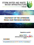 Past Storm Water and Waste Water Infrastructure Forum Attendee Snapshot