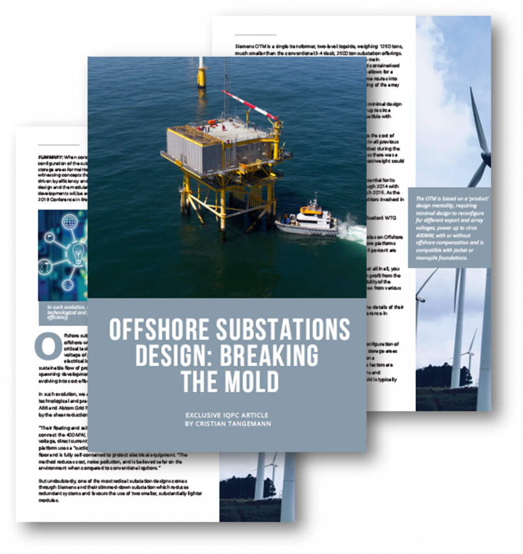 Offshore Substations Design: Breaking the Mold