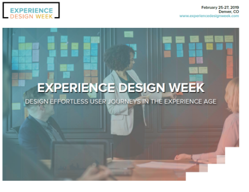 Experience Design Week Program