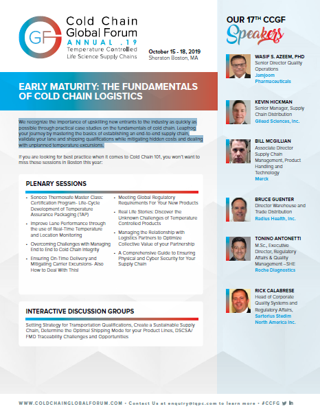 Early Maturity: The Fundamentals of Cold Chain Logistics