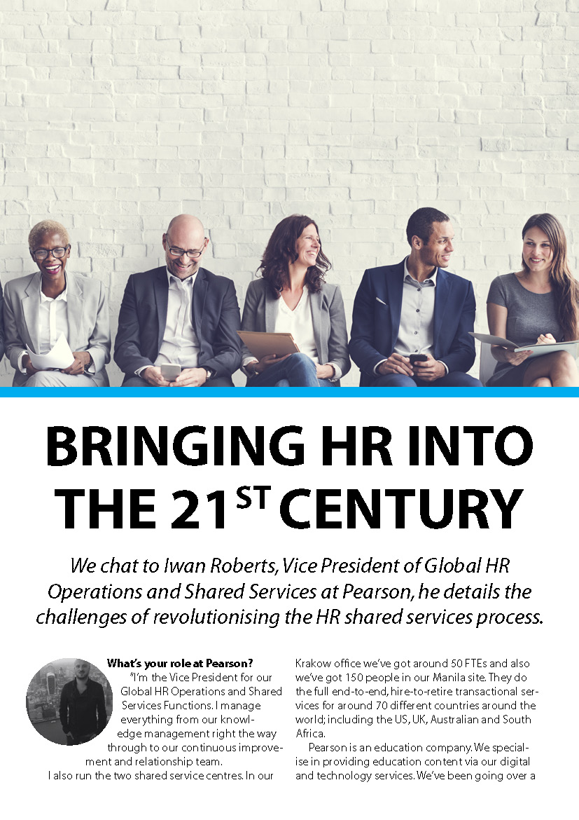 Bringing HR into the 21st Century