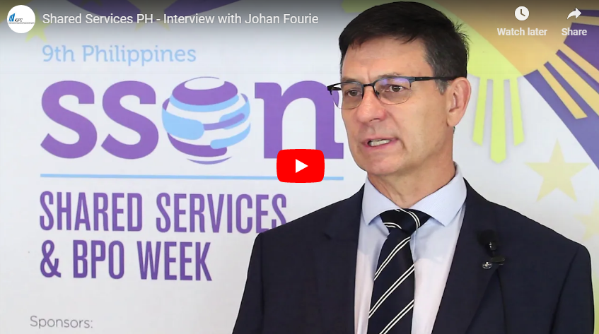 Event 2018 - Interview with Johan Fourie, Bayer Business Services