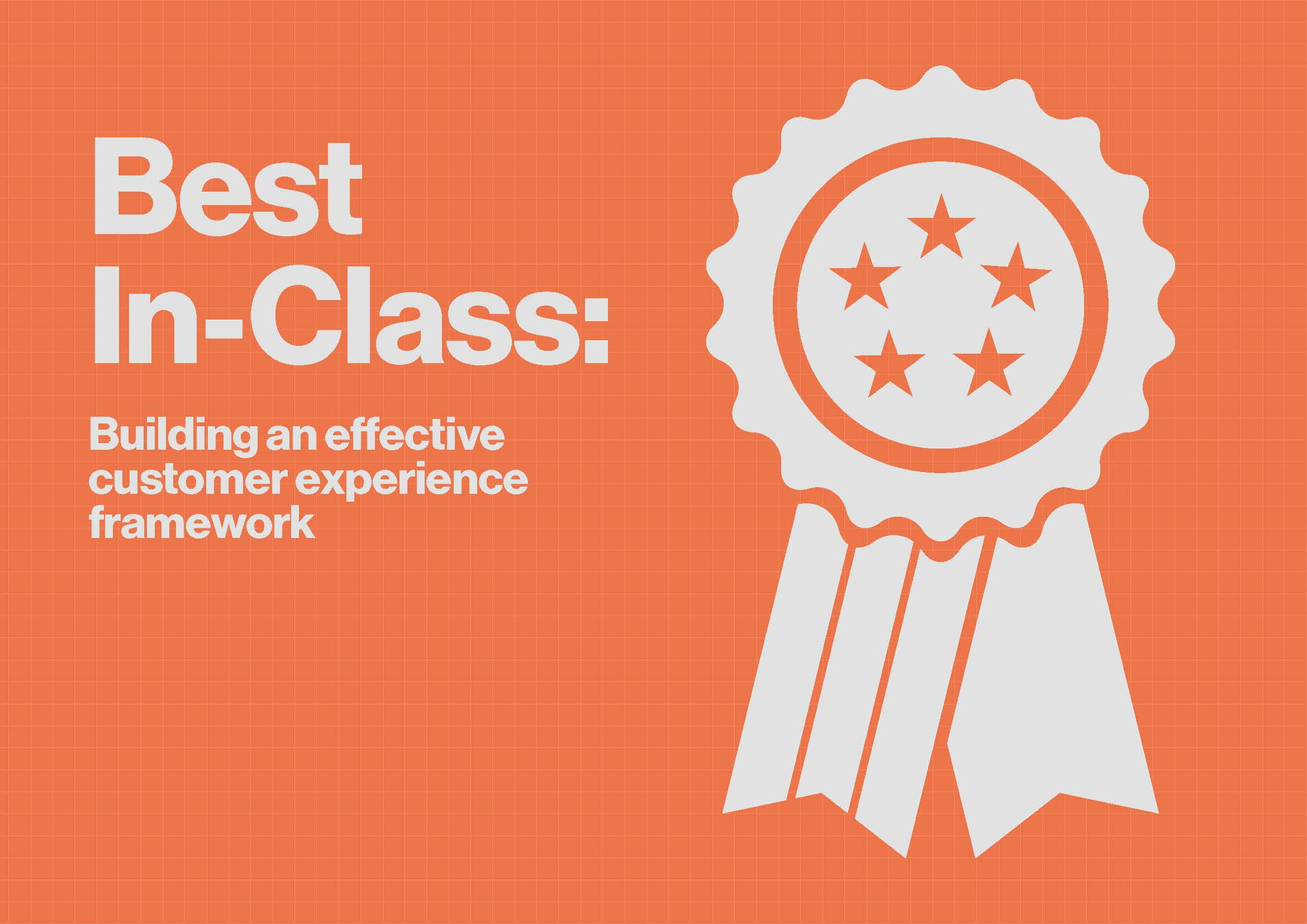 Download the Article - Best In-Class: Building an effective customer experience framework