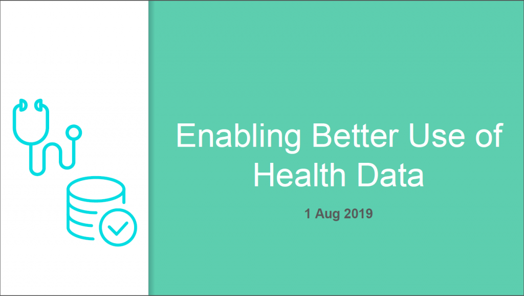 Past Presentation 2019 - Harnessing Health Data and Analytics to Transform Patient Care, Operations and Service Planning