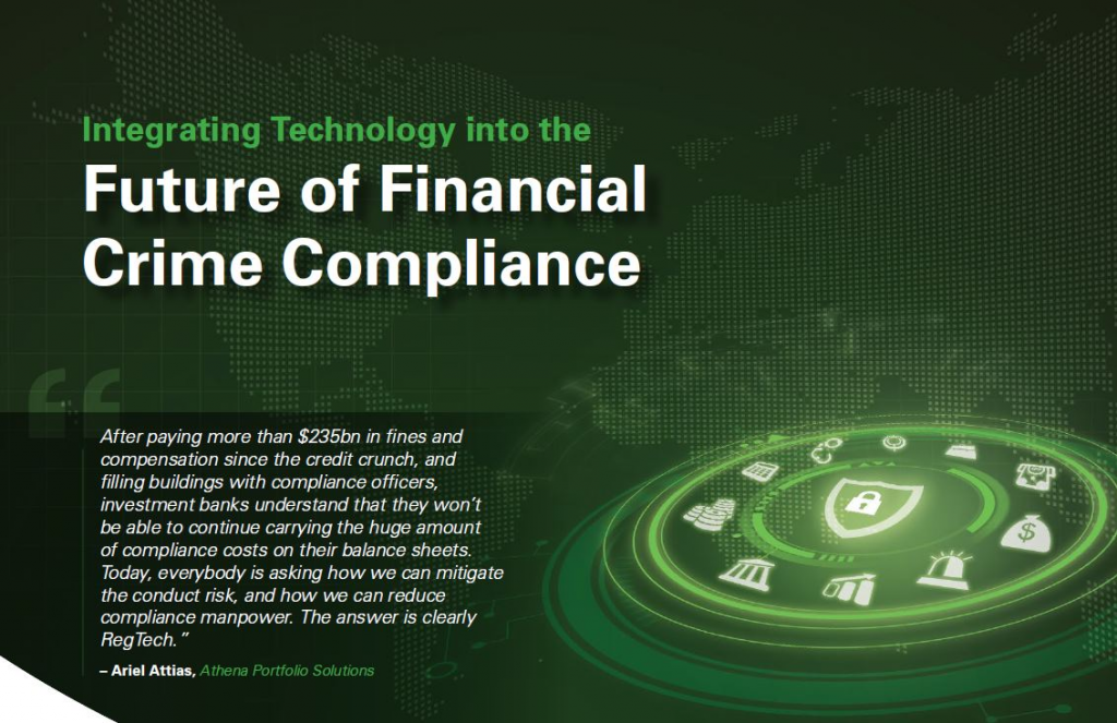 Integrating Technology into the Future of Financial Crime Compliance