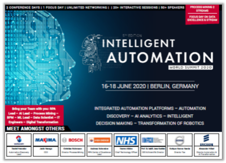 Intelligent Automation Conference Agenda