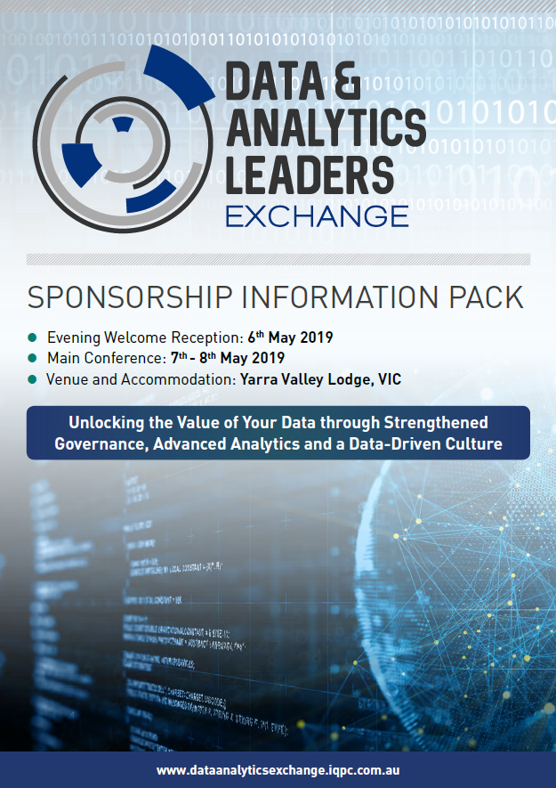 Data & Analytics Leaders Exchange 2019 - Sponsorship Information Pack