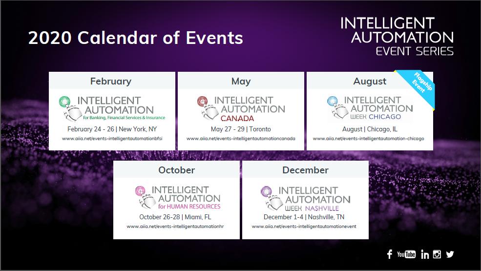 IA Event Series - 2020 Calendar