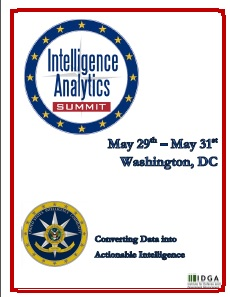 Intelligence Analytics Summit 2019 Preliminary Agenda