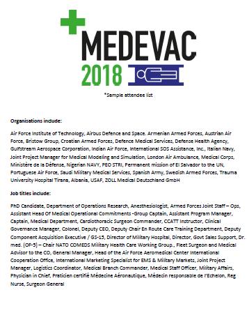 2018 Sample Attendee List
